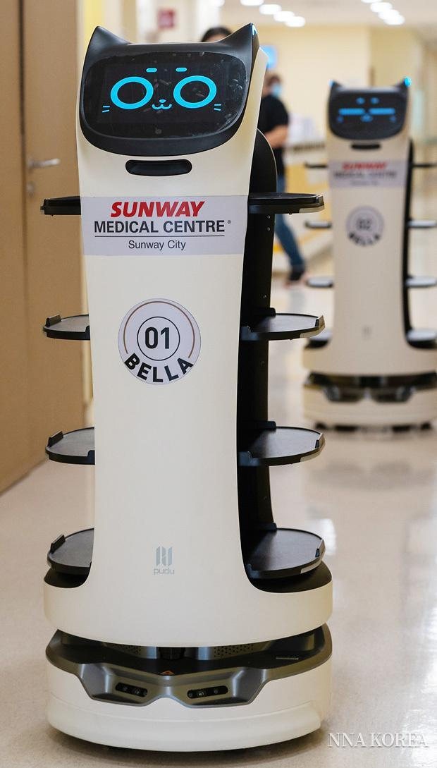 자율형 음식배달 로봇 벨라봇