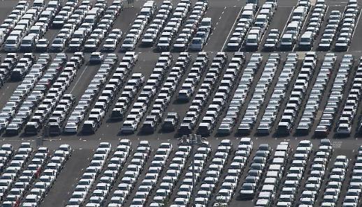 韩国7月汽车生产内需出口均呈下滑趋势