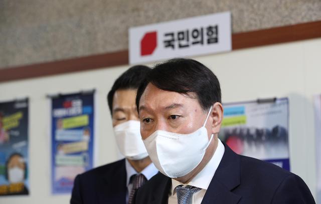 """""""윤석열 정리된다"""" 진실공방…원희룡發 '막장극'"""