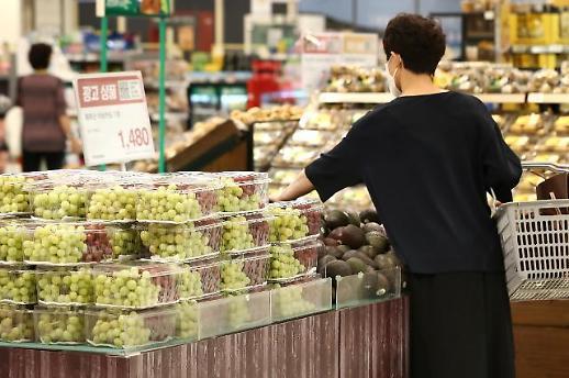 物价上涨菜篮子承压 韩国经济通胀压力空前