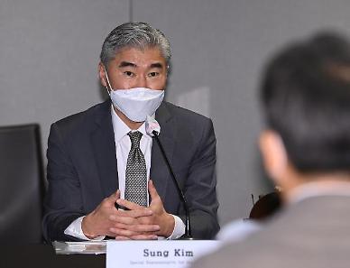 [종합] 성 김 대북 적대 의도 없어...노규덕 대북 인도적 협력 방안 논의