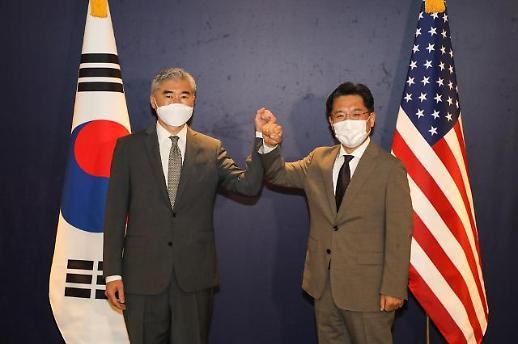 韩美对朝代表共商对朝问题合作方案