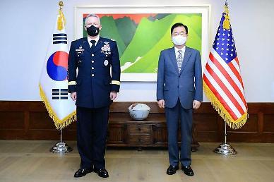 정의용, 주한미군사령관에 한반도 평화 기여 당부