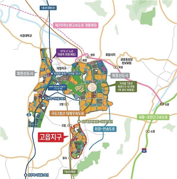 LH, 양주고읍 주거전용 단독주택용지 71필지 공급…3.3㎡당 372만원
