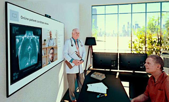 LG Electronics unveils cloud-based telehealth solution combined with hospital displays