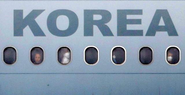 378名阿富汗人乘军机抵韩 政府将提供合法签证帮助就业