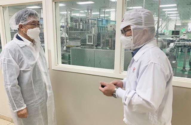 김춘진 aT 사장, 농심 아메리카 방문...지자체 연계 수출 확대 논의