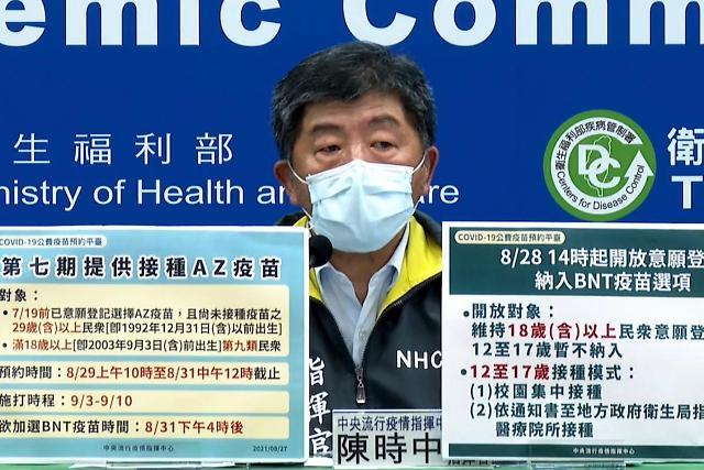 [NNA] 타이완, 비온테크 백신 희망자 300만명에 달해… 메디젠은 꺼려
