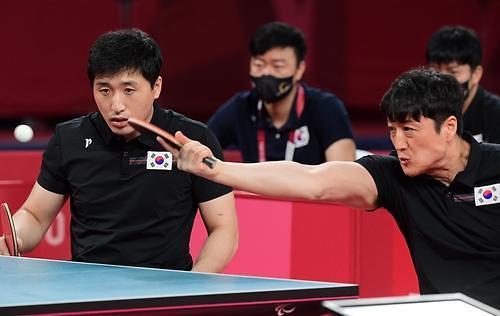 韩国队摘得东京残奥会乒乓男团银牌