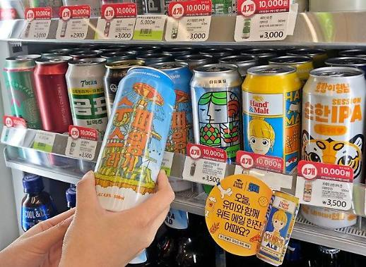 韩进口罐装啤酒均价下滑 与国产酒仅差5块6