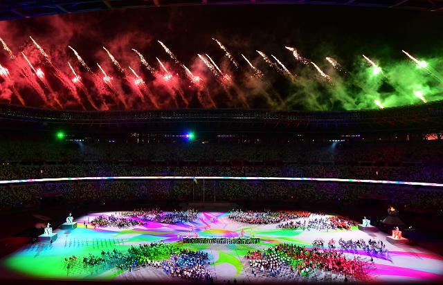 [포토] 도쿄패럴림픽 마지막을 장식하는 불꽃