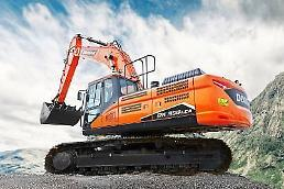 斗山インフラコア、エジプト市場で頭角…36トン大型掘削機28台の契約