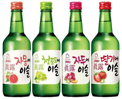 一年卖出百万箱 韩国真露烧酒畅销中国
