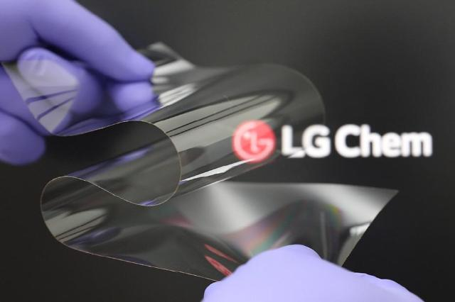 LG Chem develops new cover window technology for foldable IT devices