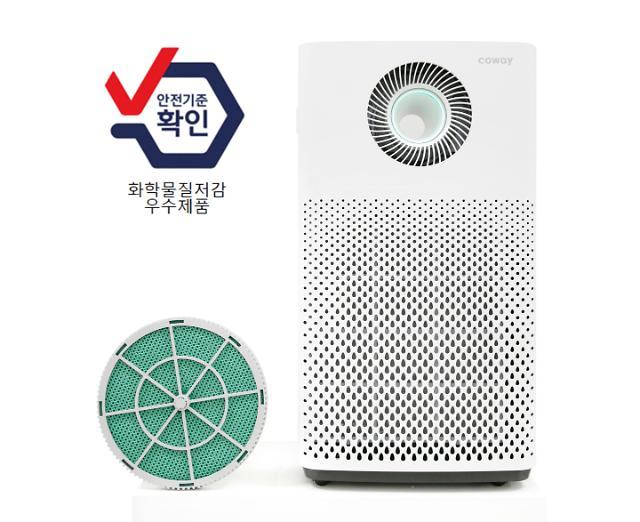 코웨이 공기청정기 필터 안전성, 환경부·소비자단체도 인정