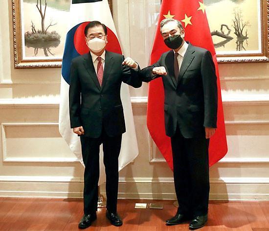 消息:韩中外长将在首尔举行会谈