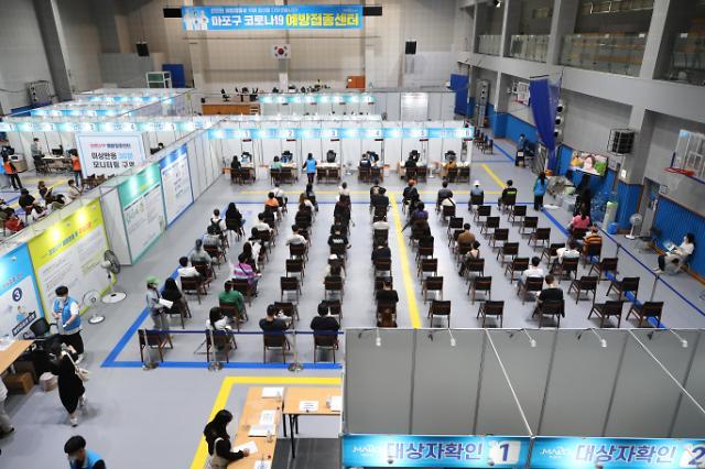 韩国新冠疫苗首剂接种率突破60%