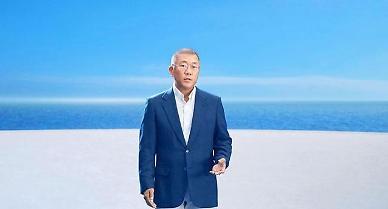Hyundai auto group showcases concept hydrogen-powered hybrid sports car