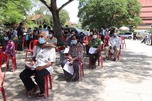 [NNA] 캄보디아, 이틀 연속 신규감염자 500명 넘어