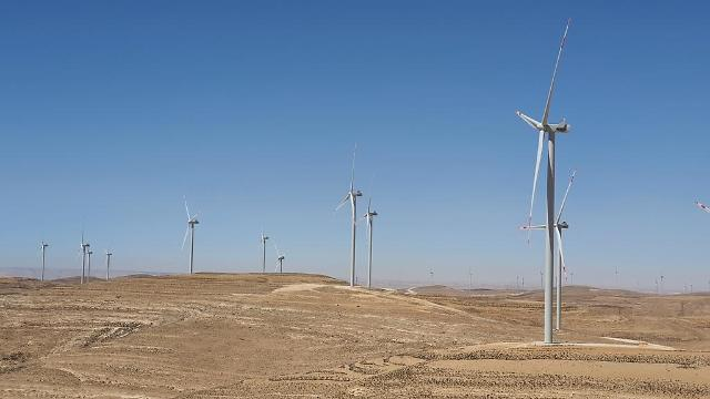 State power company completes construction of inland wind farm in Jordan