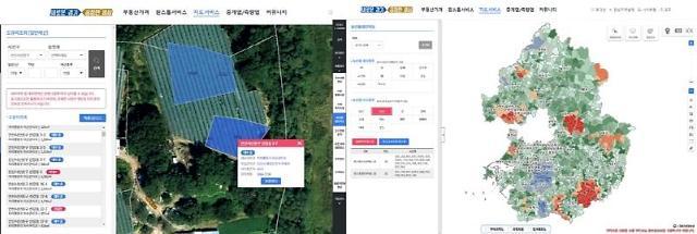 경기도, 도 부동산 포털에 도유지·농산물 생산정보 담아...한눈에 '쏙'