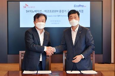 EcoPro BM secures $8.5 bln deal to supply cathode material for SK Innovations high-nickel batteries