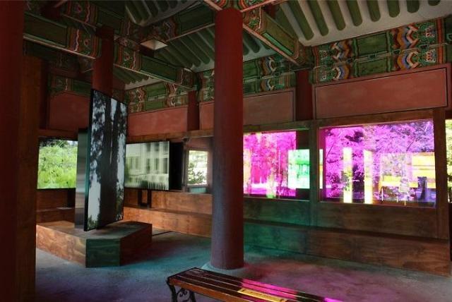 궁궐과 현대미술의 만남...덕수궁에 펼쳐진 '상상의 정원'