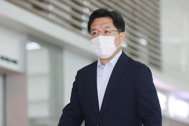 """노규덕, 북핵 협의 위해 일본 출국…""""생산적 협의 기대"""""""