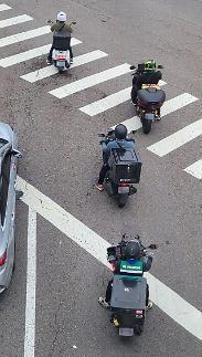 过去一年韩外卖摩托交通事故率达私人摩托15倍
