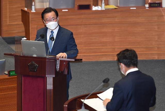 """김부겸 총리 """"검찰 고발 사주 의혹, 공무원 중대 범죄행위"""""""