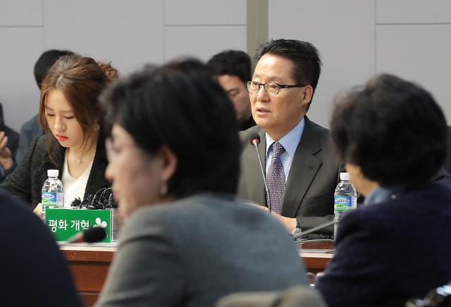 """박지원 """"야당 헛다리...조성은 똑똑한 후배, 특수관계 아냐"""""""