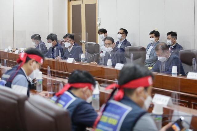 [포토] 서울교통공사 노사 협상 타결…14일 파업 철회
