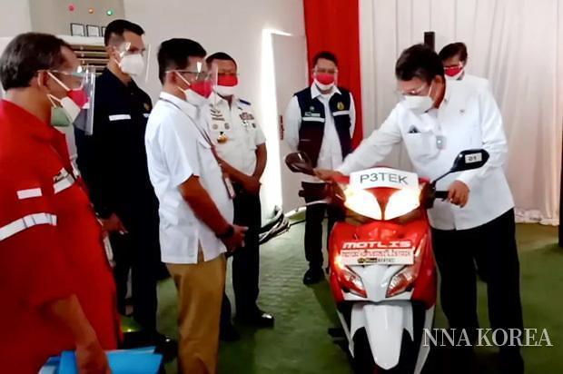 인도네시아 정부, 이륜차 전동화 시범사업 개시
