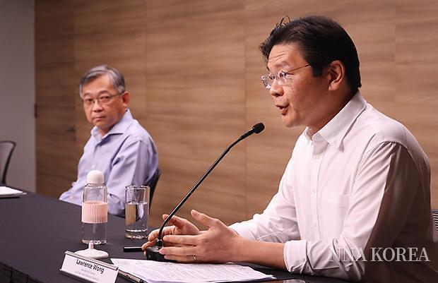 싱가포르, 웡 재무부 장관
