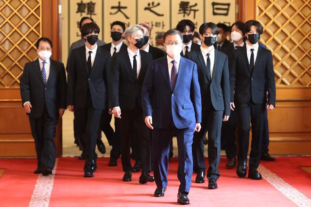 [포토] 방탄소년단, 미래세대·문화 위한 대통령 특사로 임명