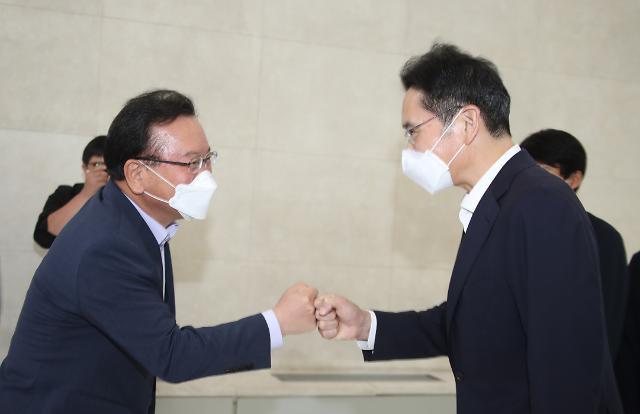"""이재용 부회장 """"청년들 희망 위해 최선 다해 힘 보태겠다"""""""