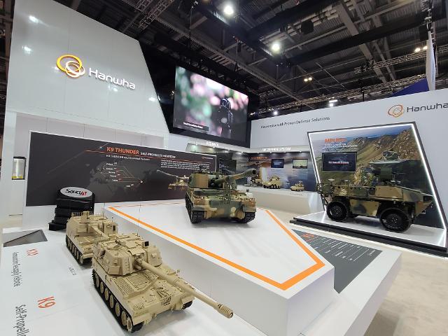 Hanwha Defense bolsters K9 bid in Britain thru partnership with local companies