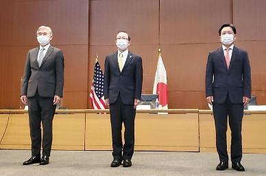 한미일 북핵협의 개최....美성김 비핵화 진전 상관없이 北과 협력할 준비
