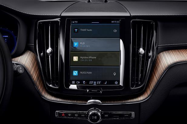 Volvo Cars Korea showcases SK Telecoms integrated in-vehicle infotainment service