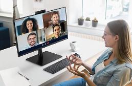 サムスン電子、「テレビ会議用のモニター」披露…世界主要市場の攻略