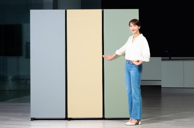 """삼성전자 """"비스포크 냉장고로 나만의 주방 인테리어 완성하세요"""""""