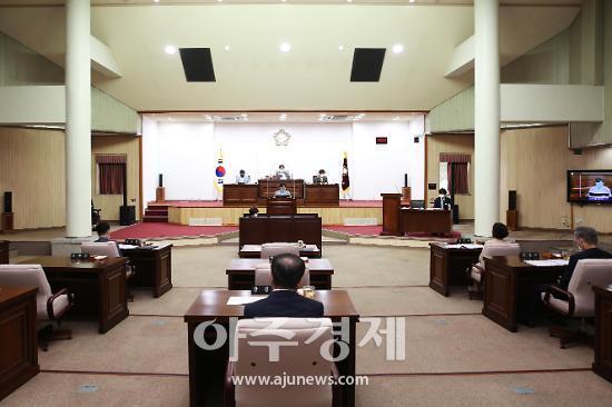 군포시의회, 추경예산안 8875억 가결...총 36건 안건심사
