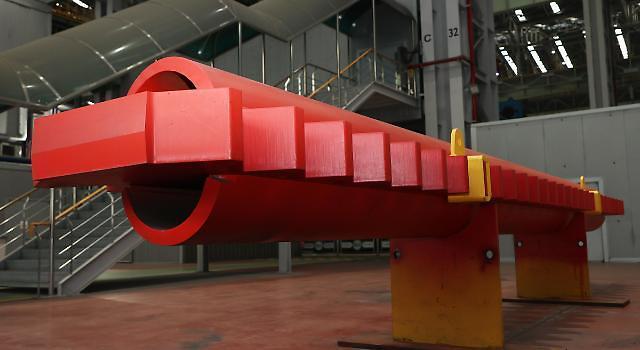 Daewoo shipyard uses Doosan Heavys steel component for wind turbine installation vessels