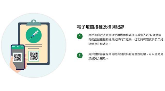 [NNA] 홍콩, 역외 백신 접종자에게도 전자증명서 발급