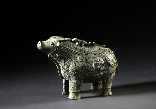 上海博物馆藏67件青铜器亮相首尔