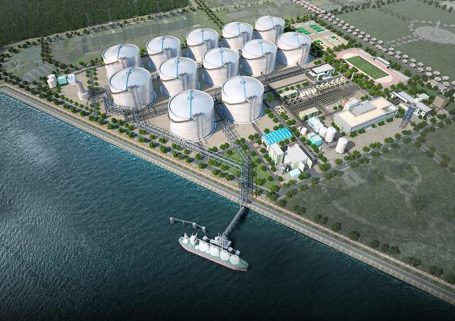 한양, 동북아 LNG 허브 터미널 3,4호기 저장탱크 공사 승인