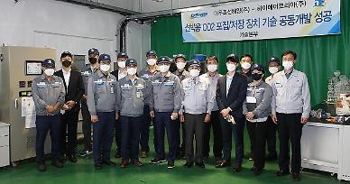 Daewoo shipyard develops technology to collect and store CO2 using ammonia-water sorbent