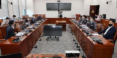 """靑, 국제인권단체 언론중재법 우려 서한에 """"입장 표명 부적절"""""""