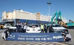 双竜自、初の電気自動車「コランド・エモーション」欧州輸出…グローバル市場攻略