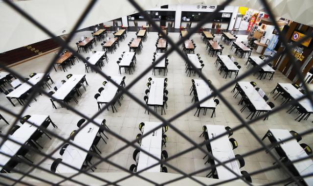 [포토] 추석 연휴 운영 중단한 휴게소 식당가